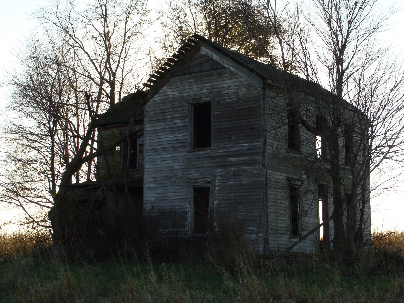 Abandoned Farmhouse Washington Township Illinois St