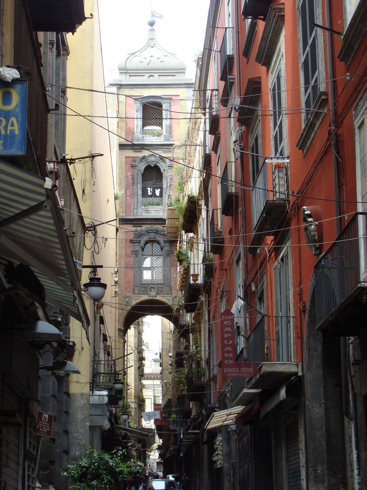 The Old City Naples Italy 2 St Louis Patina