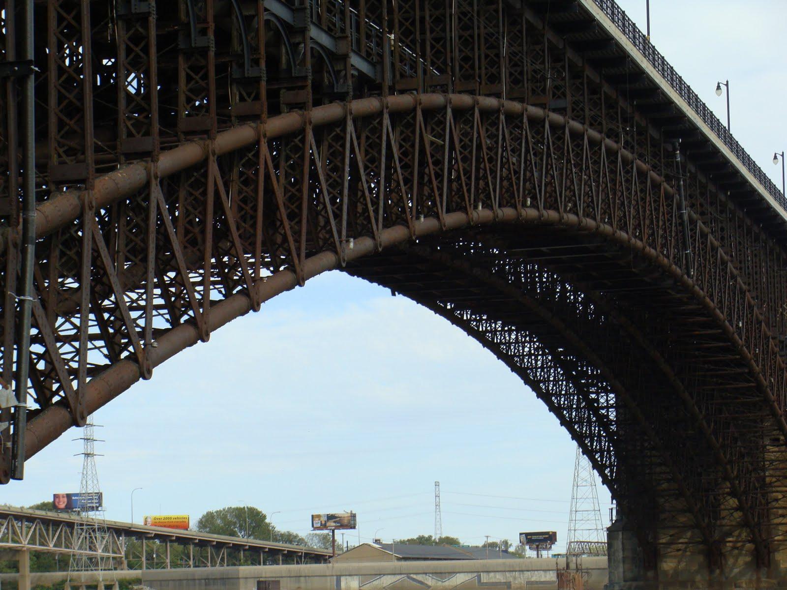 The Eads Bridge St Louis Patina