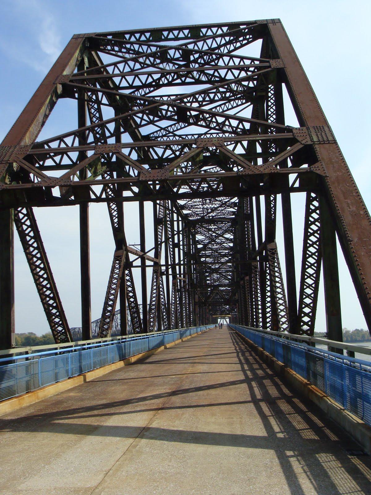 Old Chain Of Rocks Bridge St Louis Patina