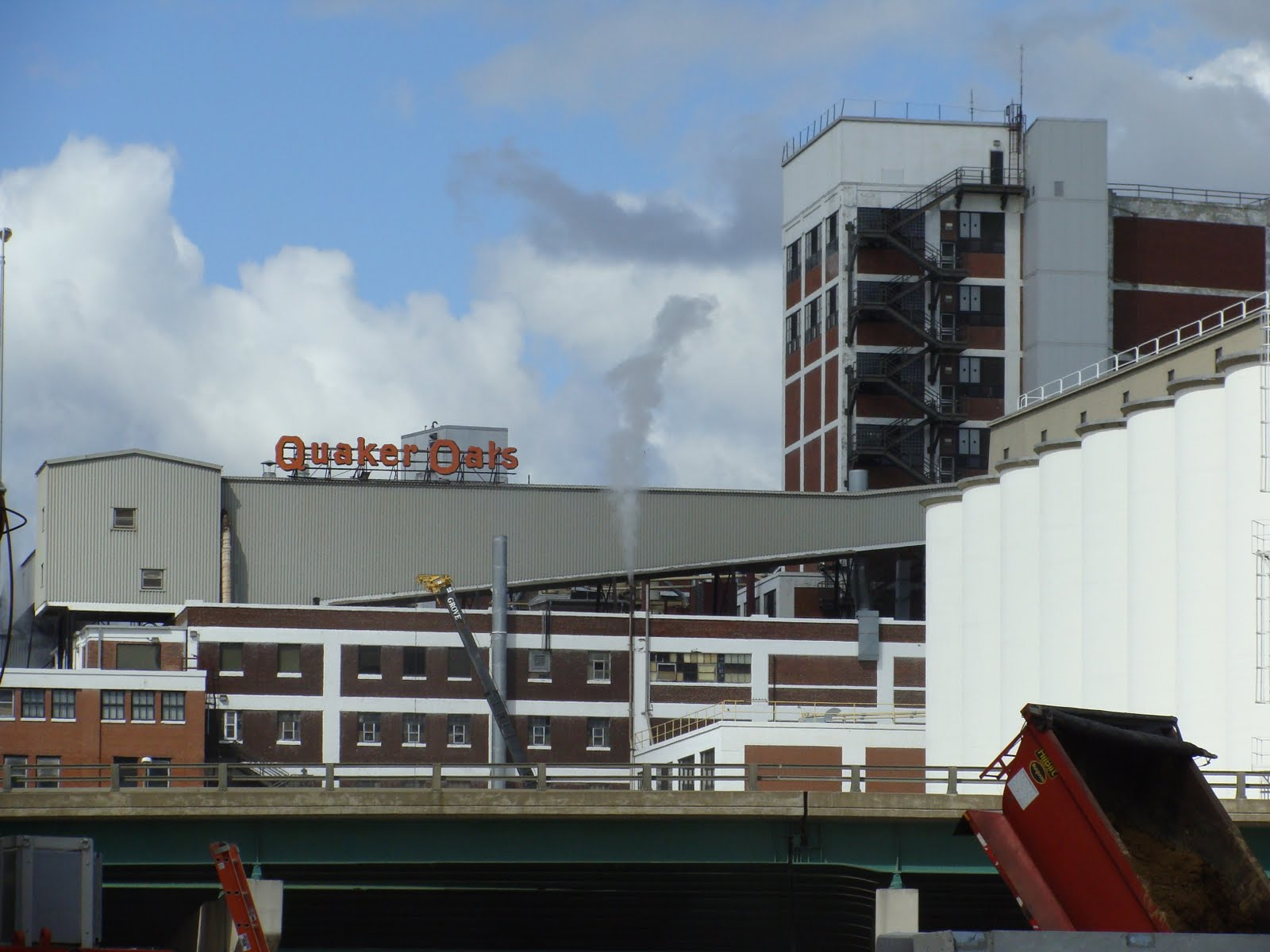 Quaker Oats Factory Cedar Rapids Iowa St Louis Patina