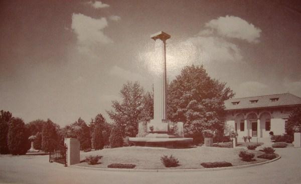 Historic Photos of Oak Grove Cemetery and Mausoleum