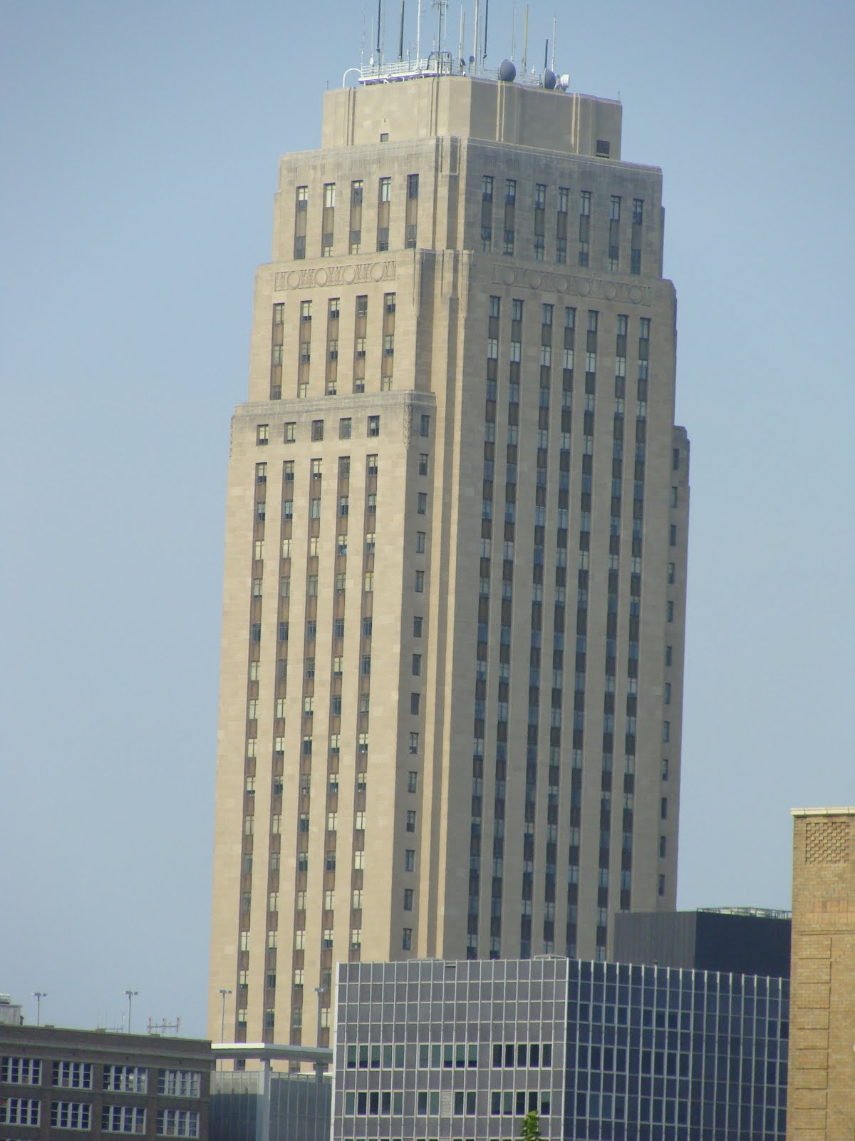 Art Deco Skysc R Kansas City Missouri St Louis Patina