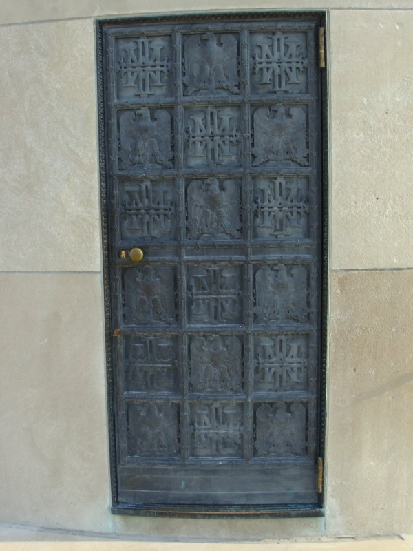 Bronze Door, World War I Memorial, Kansas City, Missouri