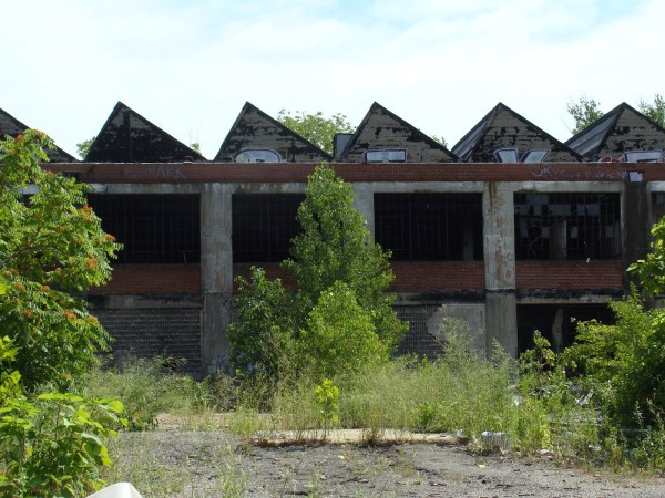Abandoned Factory, Walnut Park #1